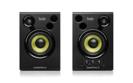 """HERCULES DJ MONITOR 42 COPPIA MONITOR DA STUDIO ATTIVI 40W 4"""" 2 VIE EX-DEMO"""