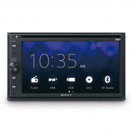 "Sony XAV-AX205ANT ricevitore multimediale 2 DIN DAB+ con Bluetooth e DVD 6,4"""