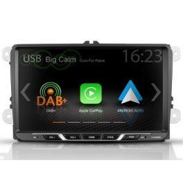 Zenec Z-E2055 autoradio 2 DIN Monitor custom fit per VW ,SEAT, SKODA con Apple CarPlay e Google Android Auto