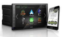 "ZENEC Z-N966 autoradio 2 DIN con schermo 9"", Apple CarPlay e Android Auto, 3 ingressi camera"